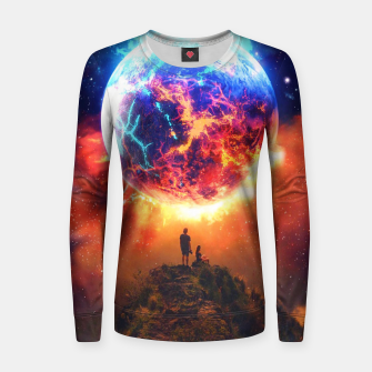 Thumbnail image of Lava Planet Women sweater, Live Heroes