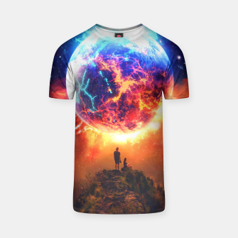 Thumbnail image of Lava Planet T-shirt, Live Heroes