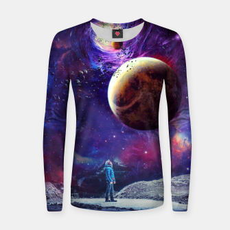 Miniatur Looking to Nebula Women sweater, Live Heroes