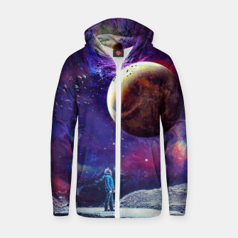 Miniatur Looking to Nebula Zip up hoodie, Live Heroes