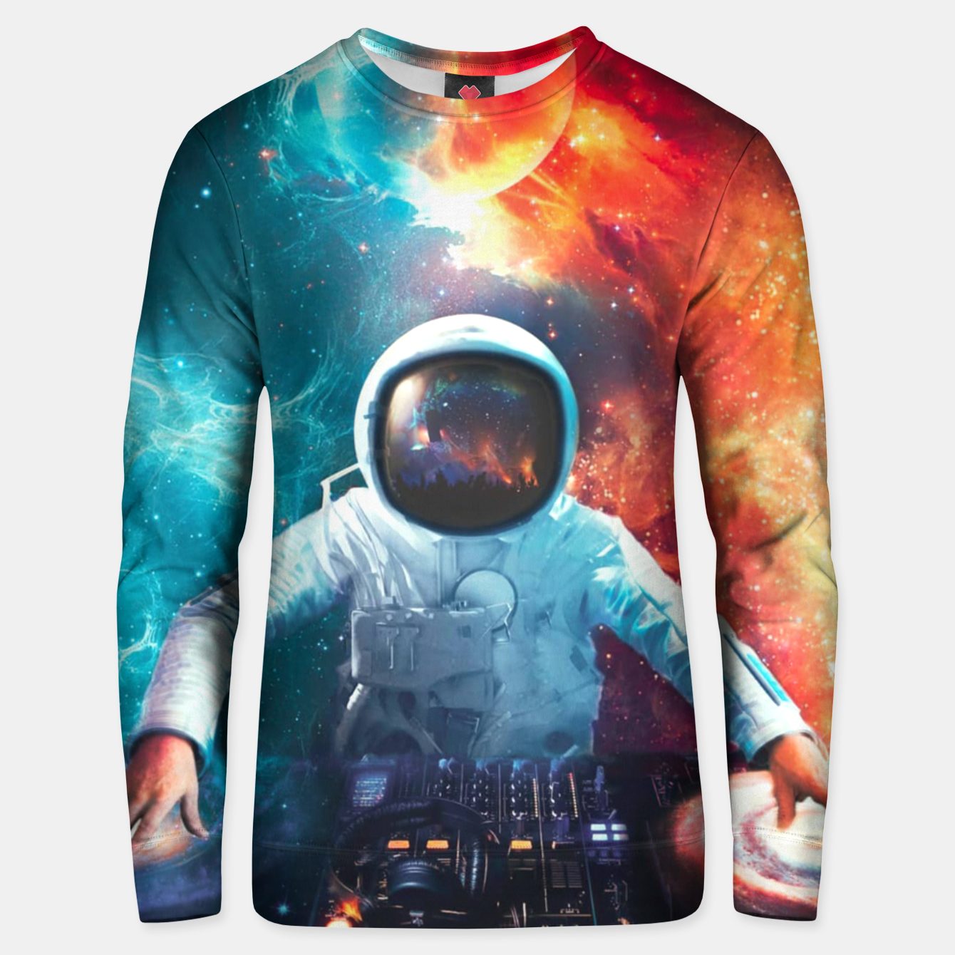 Image of Galaxy DJ Unisex sweater - Live Heroes