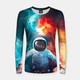 Miniatur Galaxy DJ Women sweater, Live Heroes
