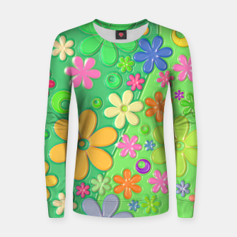 Miniatur Flower Power Women sweater, Live Heroes