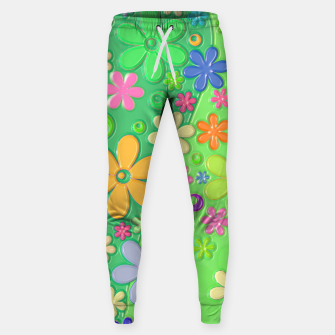 Miniatur Flower Power Sweatpants, Live Heroes