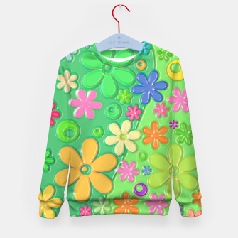Miniatur Flower Power Kid's sweater, Live Heroes