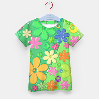 Miniatur Flower Power Kid's t-shirt, Live Heroes