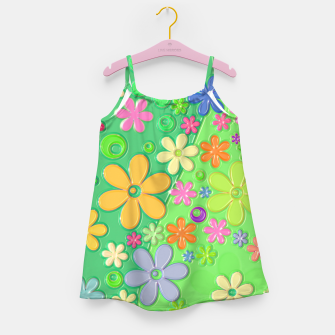 Flower Power Girl's dress thumbnail image
