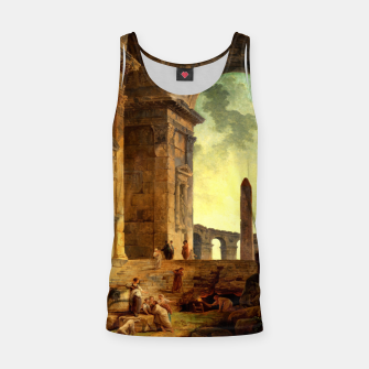 Ruins With An Obelisk In The Distance by Hubert Robert Tank Top thumbnail image