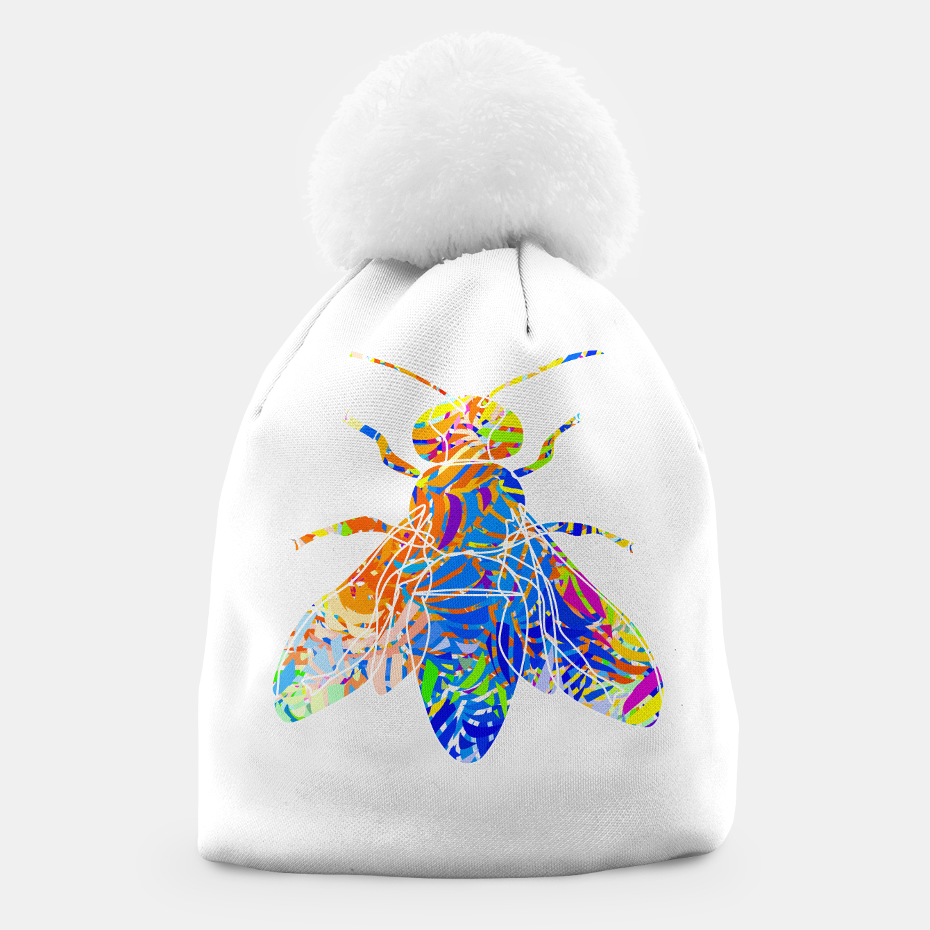 Image of bee Beanie - Live Heroes