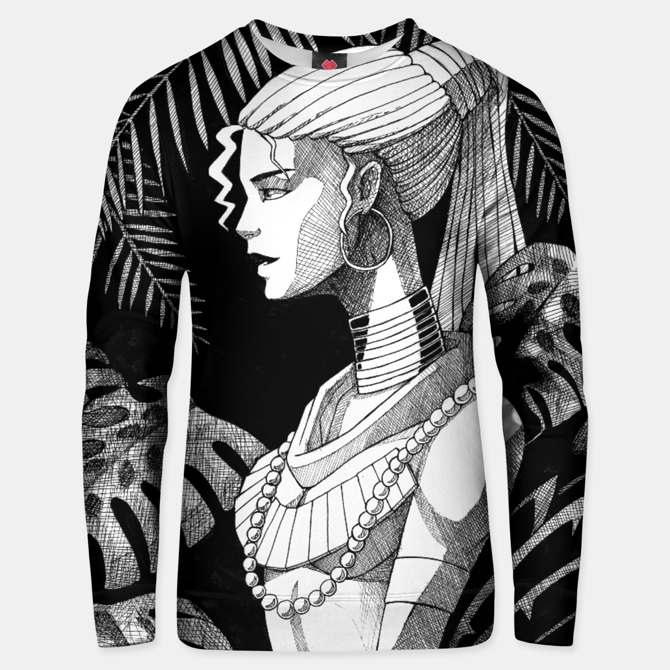 Image of Jungle Girl Unisex sweater - Live Heroes