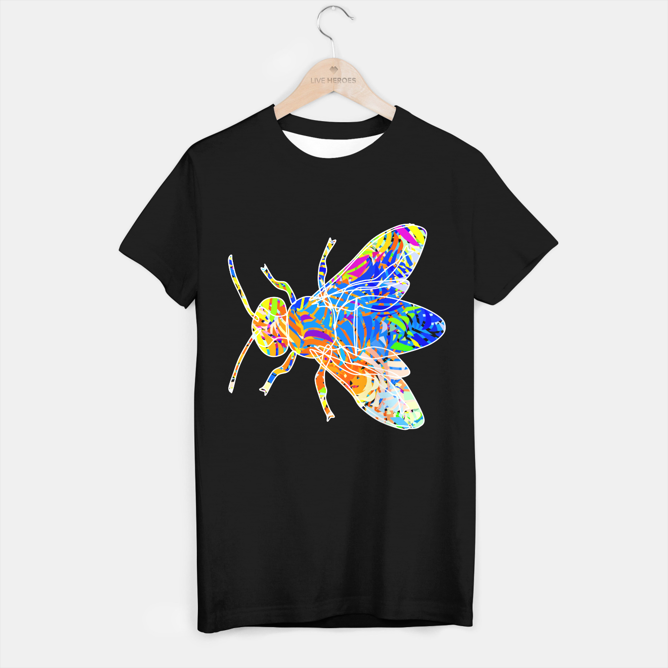Image of bee T-shirt regular - Live Heroes