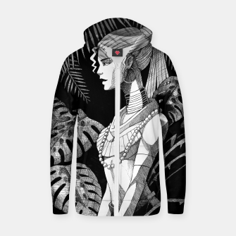 Miniature de image de Jungle Girl Zip up hoodie, Live Heroes