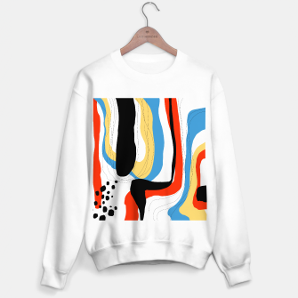 Thumbnail image of Abstract color shape Sweater regular, Live Heroes