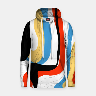 Thumbnail image of Abstract color shape Hoodie, Live Heroes