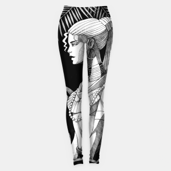 Miniature de image de Jungle Girl Leggings, Live Heroes