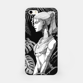 Miniature de image de Jungle Girl iPhone Case, Live Heroes