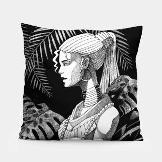 Thumbnail image of Jungle Girl Pillow, Live Heroes