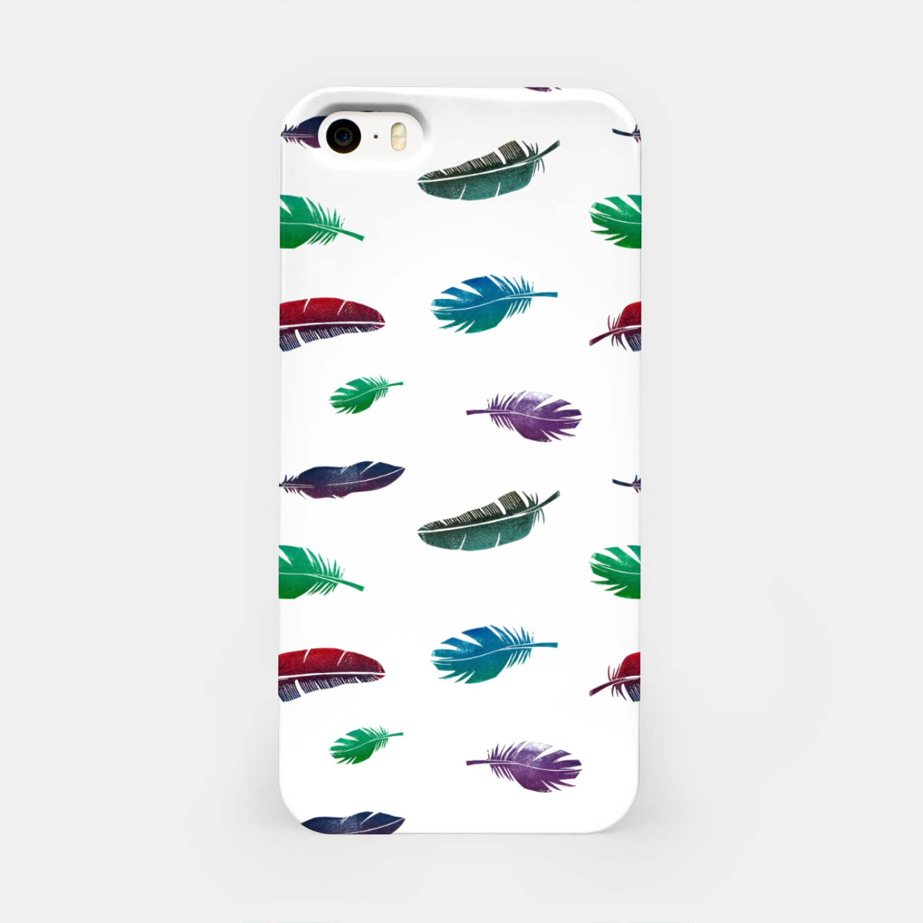 Image of Feathers – iPhone Case - Live Heroes