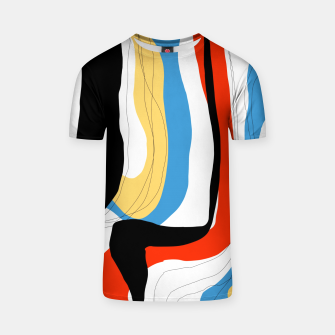 Thumbnail image of Abstract color shape T-shirt, Live Heroes