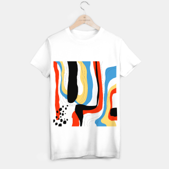 Thumbnail image of Abstract color shape T-shirt regular, Live Heroes