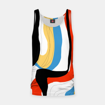 Thumbnail image of Abstract color shape Tank Top, Live Heroes