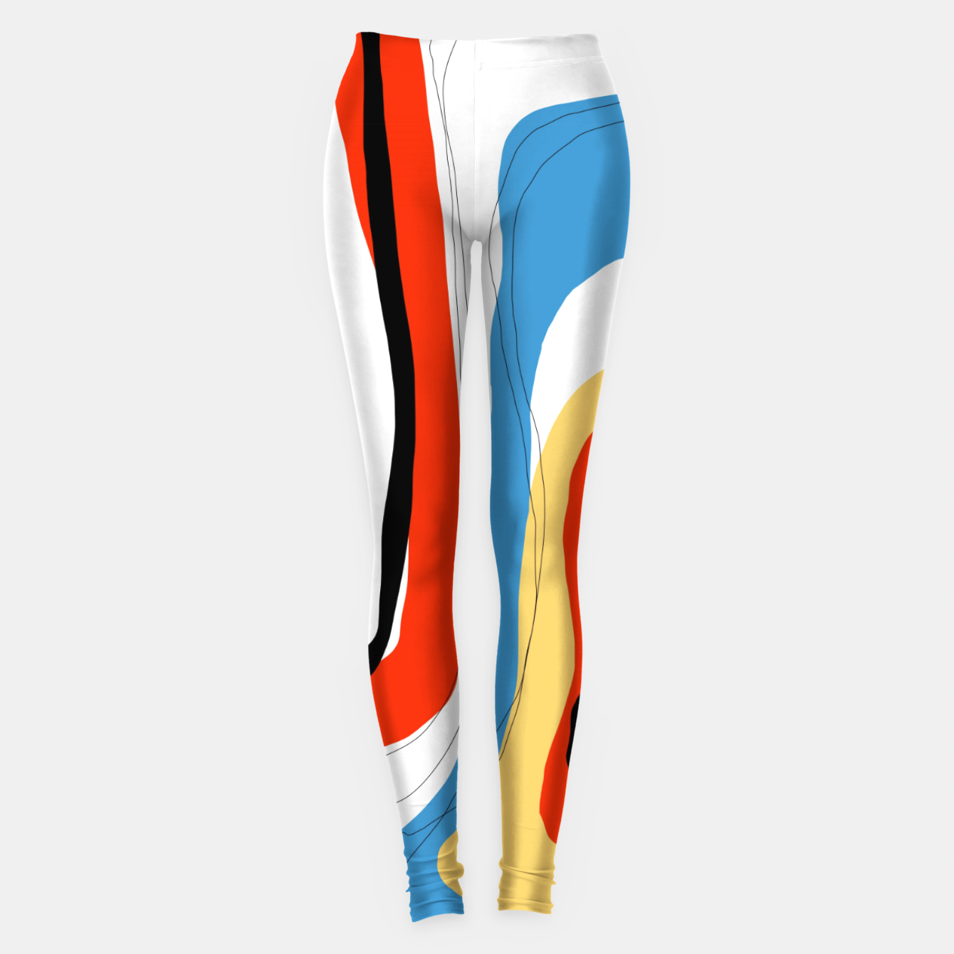 Foto Abstract color shape Leggings - Live Heroes