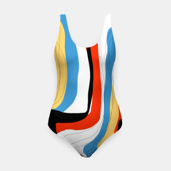 Thumbnail image of Abstract color shape Swimsuit, Live Heroes