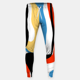 Thumbnail image of Abstract color shape Sweatpants, Live Heroes