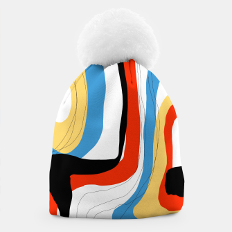 Thumbnail image of Abstract color shape Beanie, Live Heroes