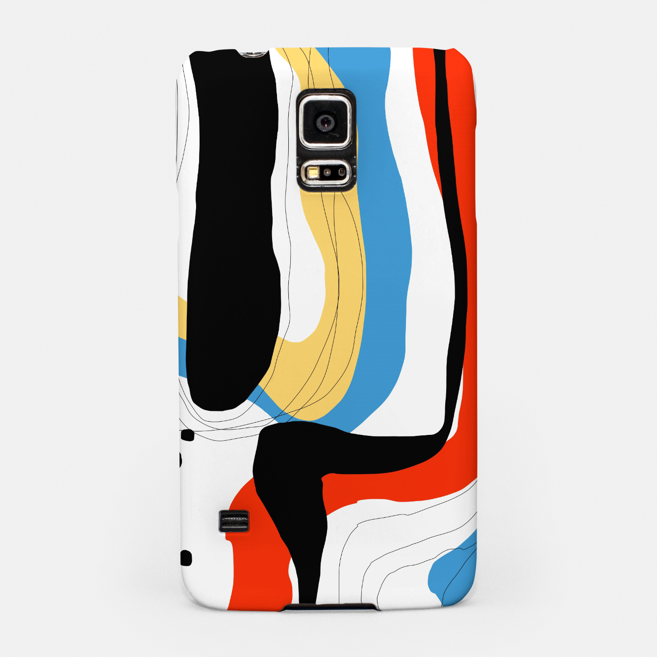 Foto Abstract color shape Samsung Case - Live Heroes