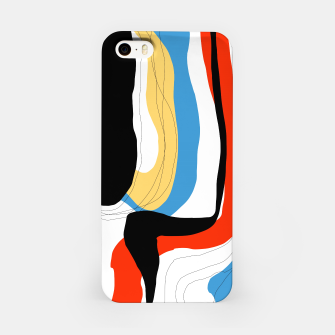 Thumbnail image of Abstract color shape iPhone Case, Live Heroes