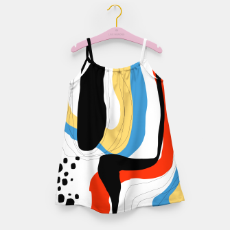 Thumbnail image of Abstract color shape Girl's dress, Live Heroes