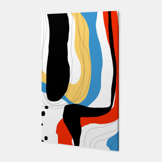 Thumbnail image of Abstract color shape Canvas, Live Heroes