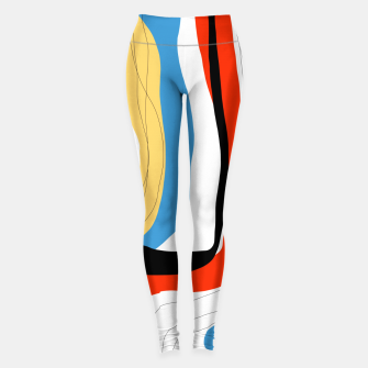 Thumbnail image of Abstract color shape Leggings, Live Heroes