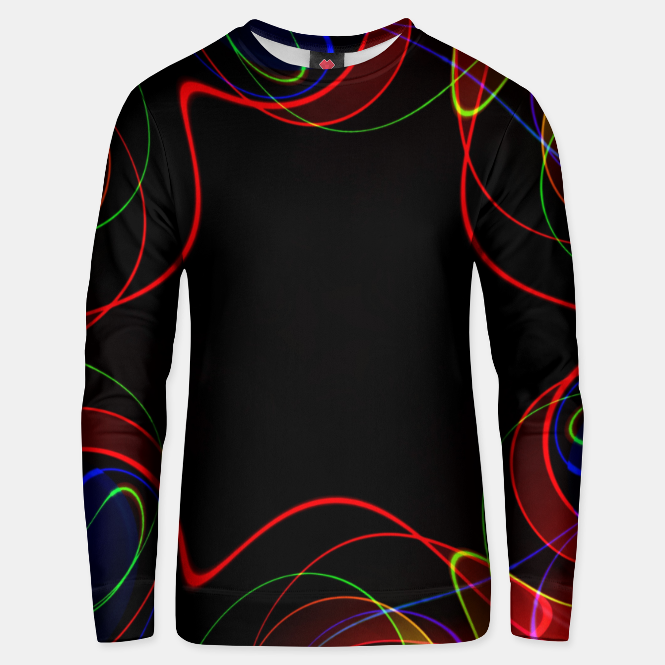 Image of Fractal Chaos Unisex sweater - Live Heroes