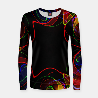 Thumbnail image of Fractal Chaos Women sweater, Live Heroes