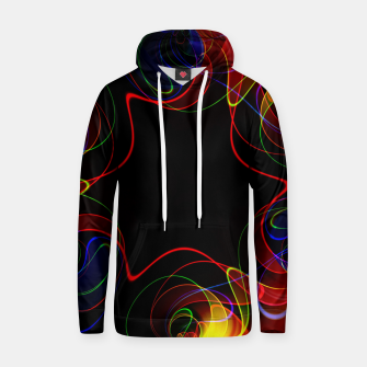 Thumbnail image of Fractal Chaos Hoodie, Live Heroes