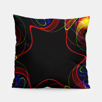 Thumbnail image of Fractal Chaos Pillow, Live Heroes