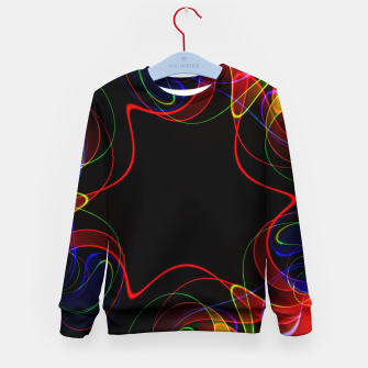Fractal Chaos Kid's sweater thumbnail image