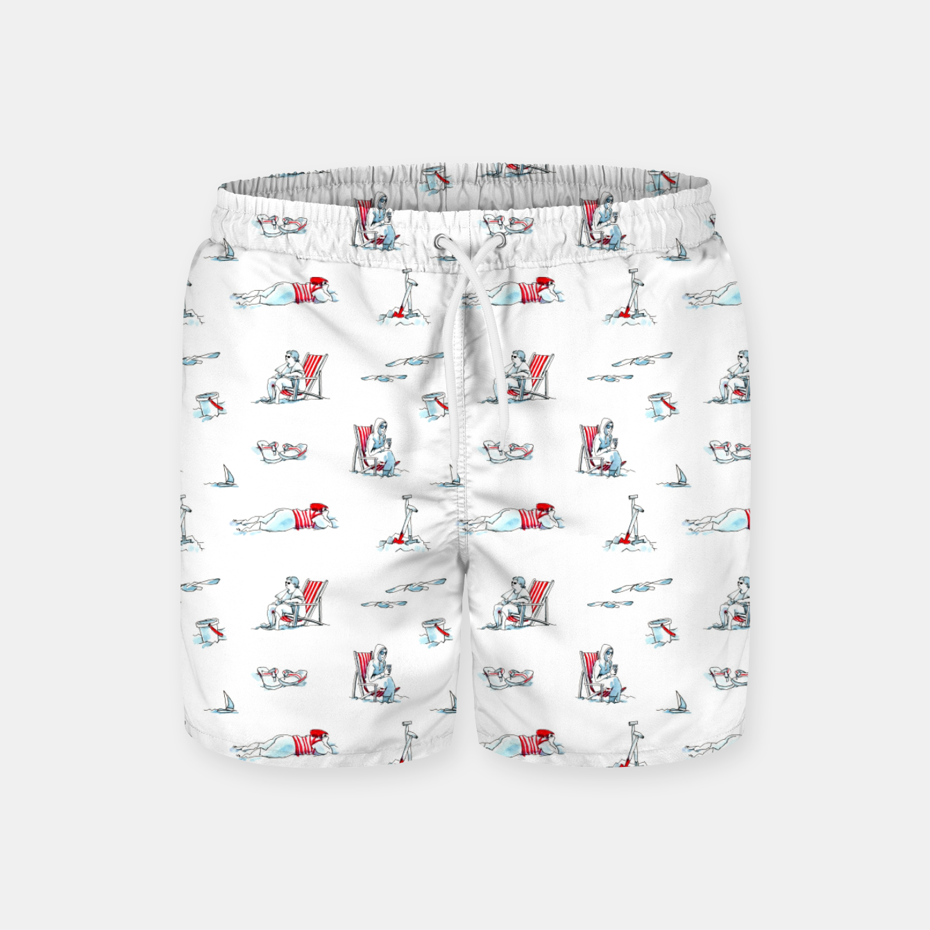 Image of At the Beach – Swim Shorts - Live Heroes