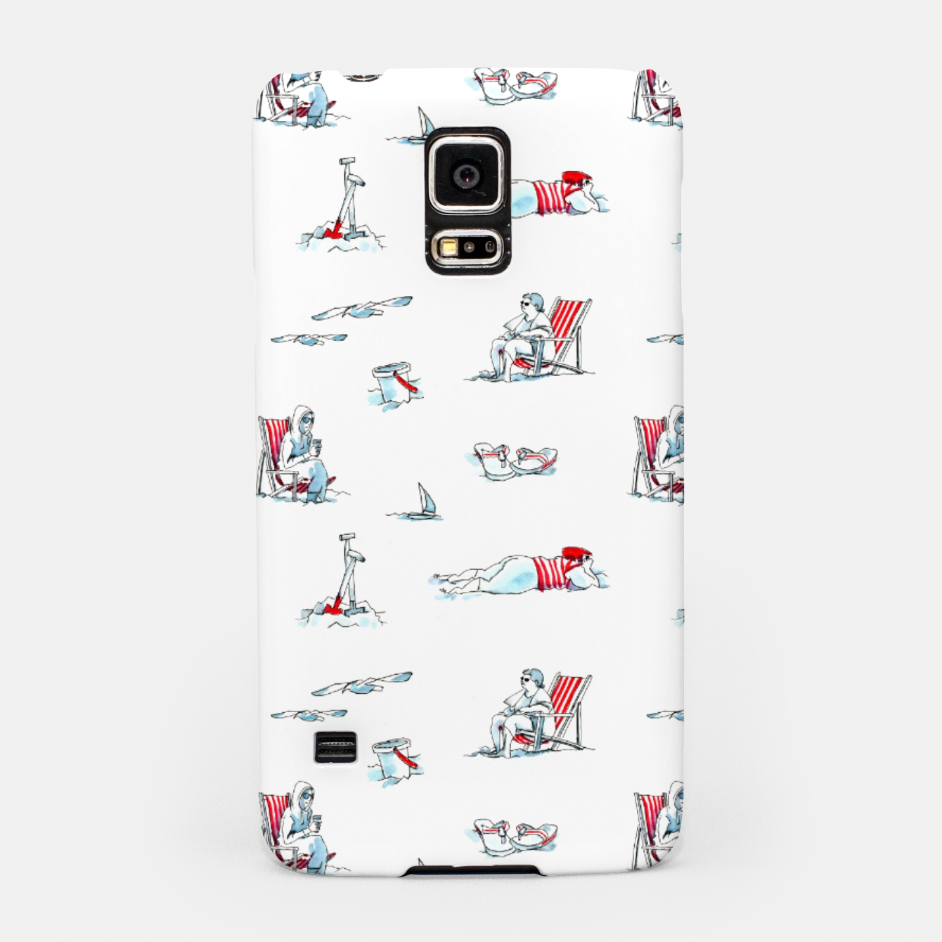 Image of At the Beach – Samsung Case - Live Heroes