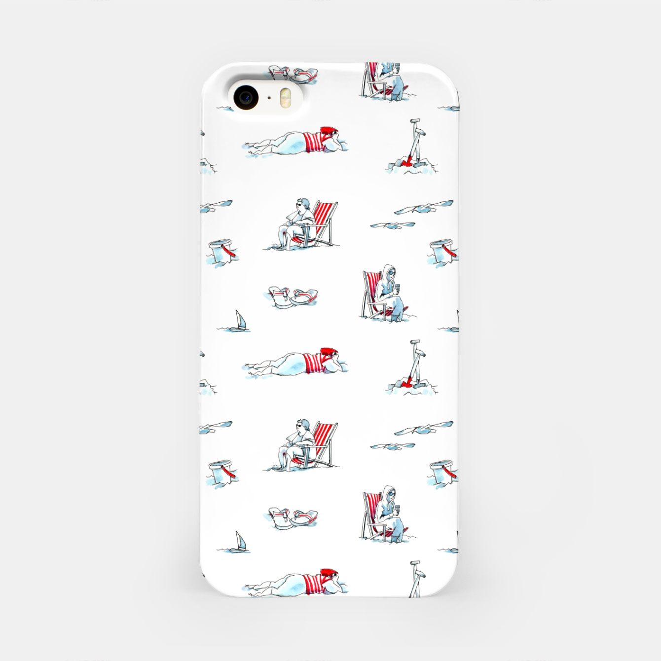 Image of At the Beach – iPhone Case - Live Heroes