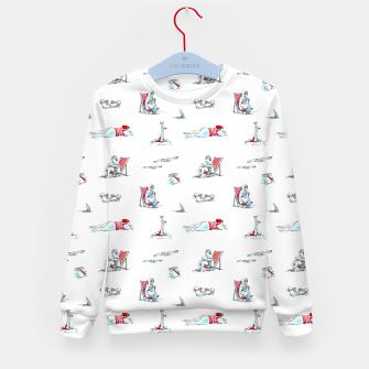 Thumbnail image of At the Beach – Kid's sweater, Live Heroes