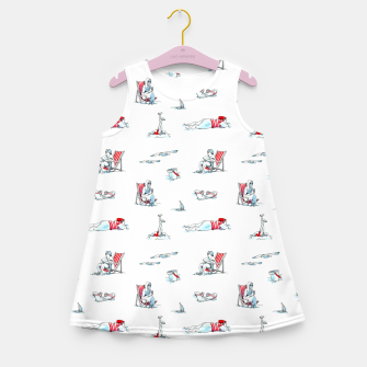 Thumbnail image of At the Beach – Girl's summer dress, Live Heroes