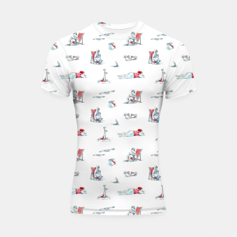 Thumbnail image of At the Beach – Shortsleeve rashguard, Live Heroes