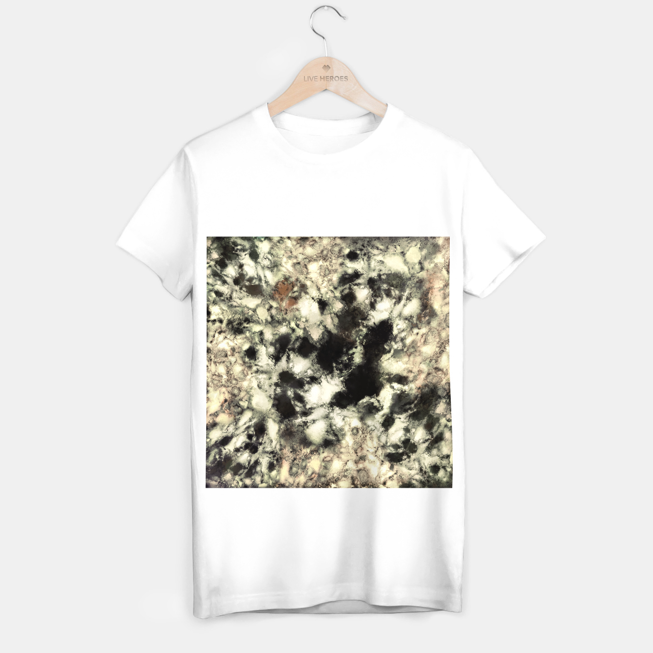 Image of Ghost T-shirt regular - Live Heroes