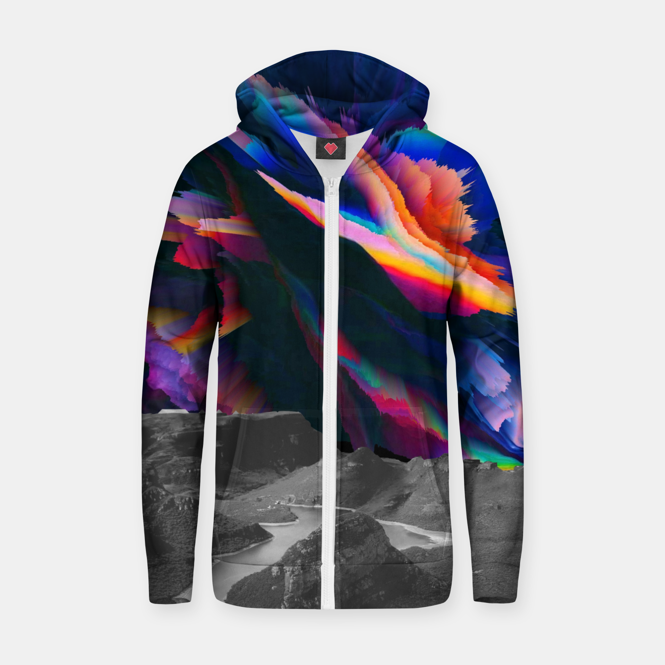 Image of 032 Zip up hoodie - Live Heroes