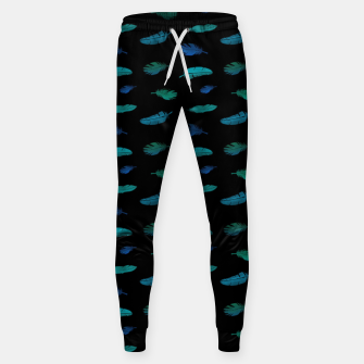 Thumbnail image of Feathers on Black Sweatpants, Live Heroes