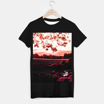 Thumbnail image of idyllic nature landscape va2s T-shirt regular, Live Heroes