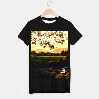 Thumbnail image of idyllic nature landscape vastd T-shirt regular, Live Heroes